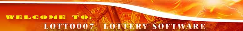 Best lottery software - Lotto007